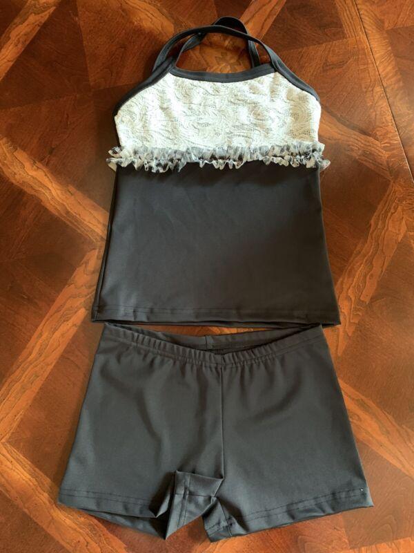 EllieWear Dancewear Girls Dance Set Size MEDIUM