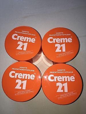 Creme 21 Sanfte Feuchtigkeitspflege 4er Pack (4 x 250 ml)