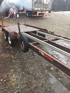 Trailler 2 essieux