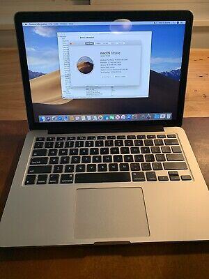 2015 Apple Macbook Pro 13.3 13in Retina i5 16gb RAM 256GB SSD