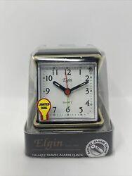 Advanced Time Technology Analog Alarm Clock - Folding Case New In Box