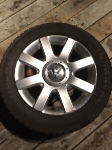 """16"""" Alloy Rims with tires for VW"""