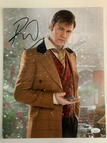 Doctor Who David Morrisey Autographed Signed 11x14 Photo JSA COA