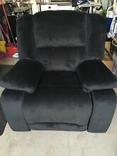 Black Recliner Chair Appin Wollondilly Area Preview