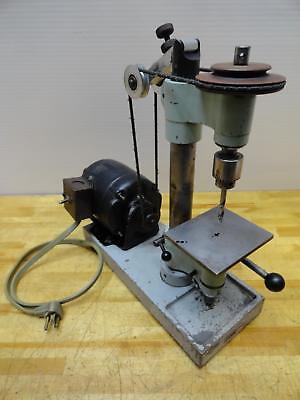 Levin Type Abel Mirco Drill Press 3450-9400 Rpm 115v Precision Sensative Ww