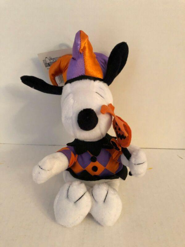 Snoopy Halloween  Hallmark Jester Plush