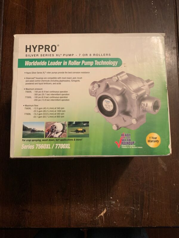 Hypro 7560XL silver series XL Pump - 7 or 8 Rollers