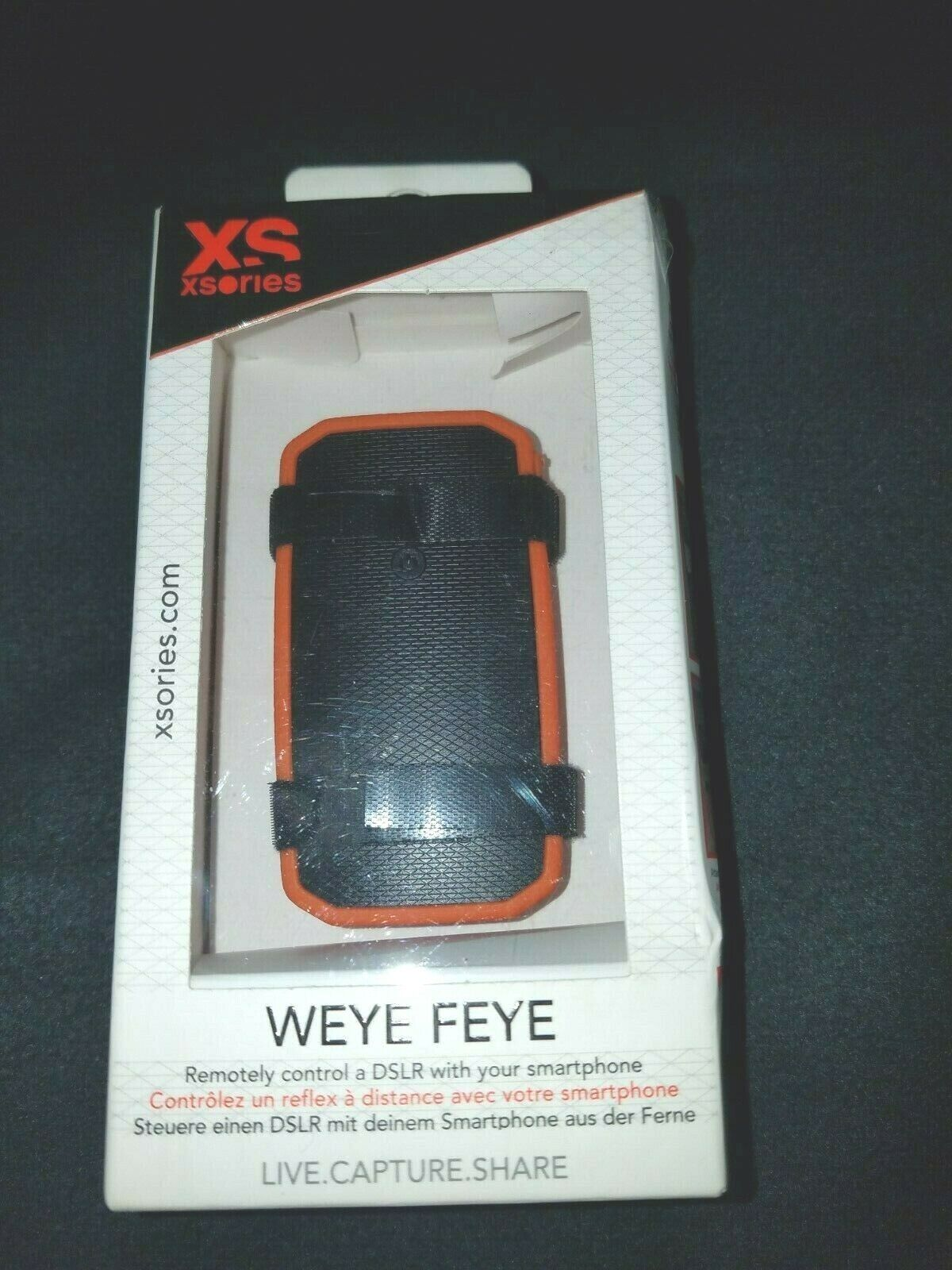 Xsories Weye Feye Wireless And Remote Control Of A DSLR Camera-New In Sealed Box - $39.00