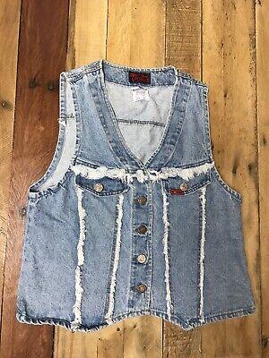 Golden Star Womens Denim Jean Best Size Medium Made In The USA Western