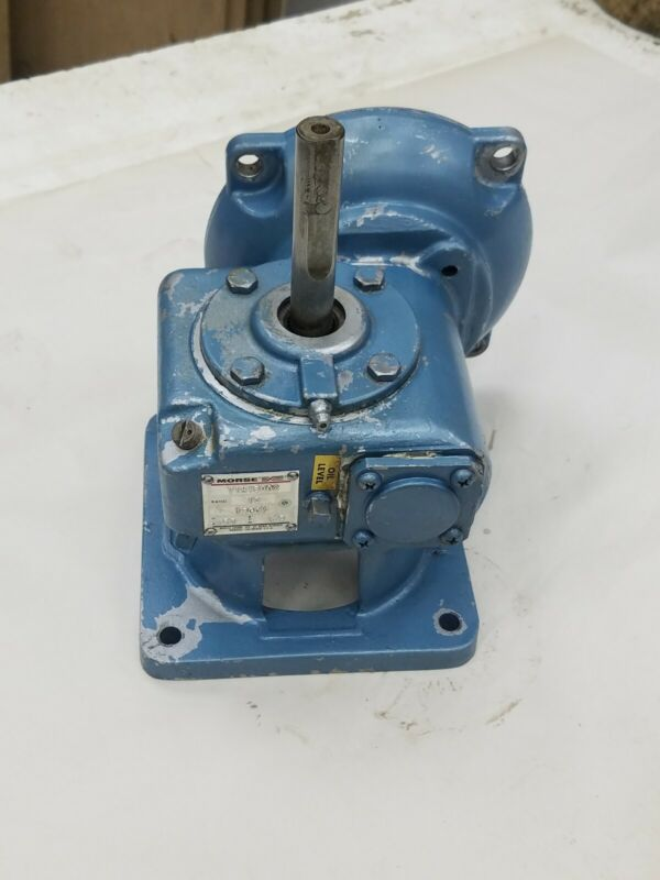 Morse 13GCV 10 RUD Right Angle Worm Drive Gear Reducer 10:1 Ratio .53 HP
