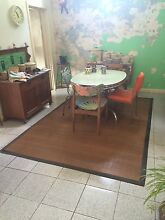 Large bamboo floor mat Tempe Marrickville Area Preview