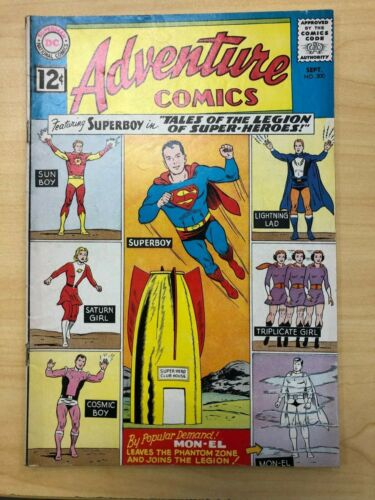 Adventure Comics #300 Silver Age Legion of Super-Heroes appearance