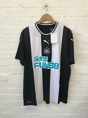 Newcastle United Puma Men's 2019-20 Home Football Shirt - XL - Ki.S.Y 4 - New
