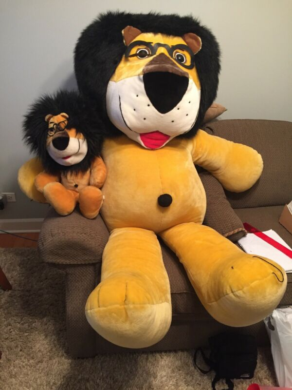 HUBERT THE HARRIS LION COLLECTIBLE STUFFED DOLL Very RARE, Giant sized, 5ft!