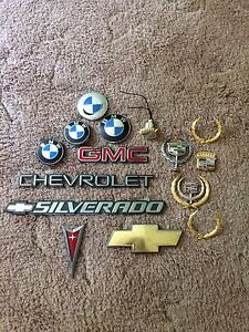Car emblems and badges