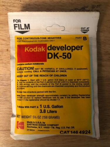 Kodak Developer DK-50 Part A & B
