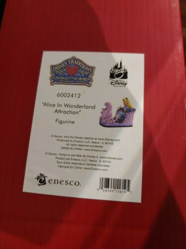 NEW Jim Shore Disney Traditions Alice in Wonderland Attraction Figurine 6002412