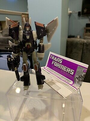 TRANSFORMERS UNIVERSE 2.0 CLASSICS CYCLONUS NIGHSTICK DELUXE CLASS  COMPLETE