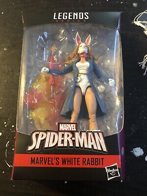 Marvel Legends Series Spider-Man Marvel's White Rabbit Figure BAF Demogoblin P