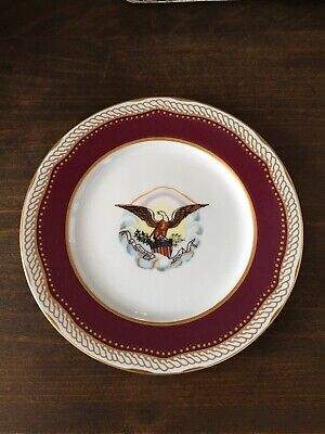 Woodmere White House Dessert Collection Plate Abraham Lincoln