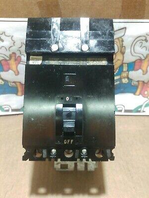 Square D Fa36060 3 Pole 60 Amp 600 Volt Type Fa Black Face Circuit Breaker