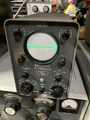 Central Electronics MM-2 Multiphase Analyzer  Nice Working And Physical Condtion