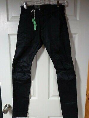 G-Star Raw 5620 Super Slim Pants Black Sz 28/32 NWT 100% Authentic