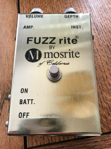 Minty Late 60s- Early 70s Vintage Mosrite Fuzzrite All Original Very Rare