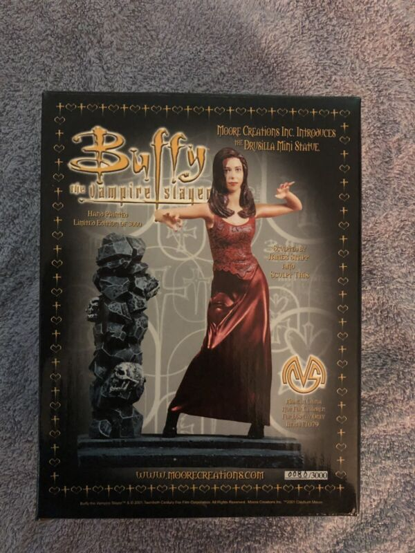 Brand New Buffy The Vampire Slayer Drusilla Statue Limited 86/3000 Low Number