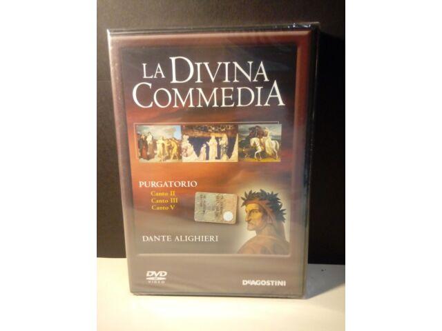 DVD La Divina Commedia N 12 Purgatorio Canto II III V  Nuovo Blisterato
