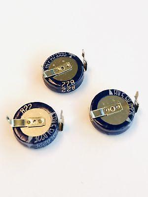 Pkg Of 3 0.022 F 5.5vdc Super Cap Ultracap Cde Edlsd223h5rc