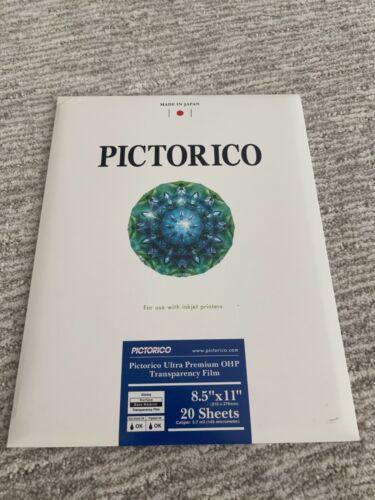 SEALED NIB | Pictorico Ultra Premium OHP Transparency film | 20 sheets
