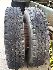 Michelin X 8.25 R20 tires