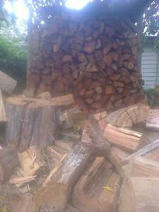 FIREWOOD dry split ready to burn GUM, delivered and stacked Ferntree Gully Knox Area Preview