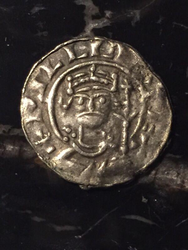 "Antique Spanish Cob Coin Travel Souvenir Genuine? 2.4g 3/4"" Estate Find"