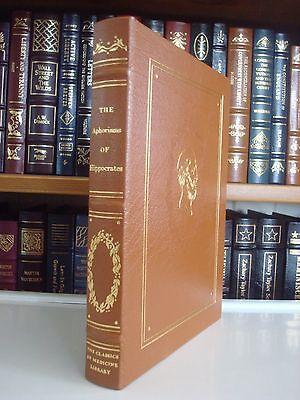 Aphorisms Of Hippocrates Gryphon Medicine Classics Leather