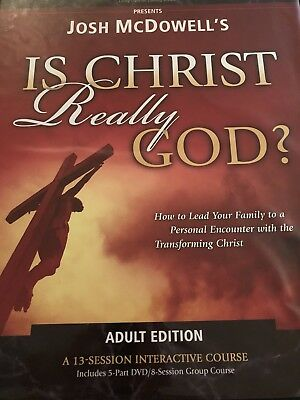 Josh McDowell's Is Christ Really God?  13 Session Interactive Course DVDs, books