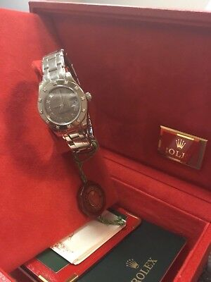 Rolex Masterpiece Oyster Perpetual Lady-Datejust Pearlmaster Watch
