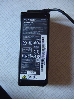 adapteur lenovo 20 volts 3,25 amp 65 watts ou 4,5 amp prix a la piece