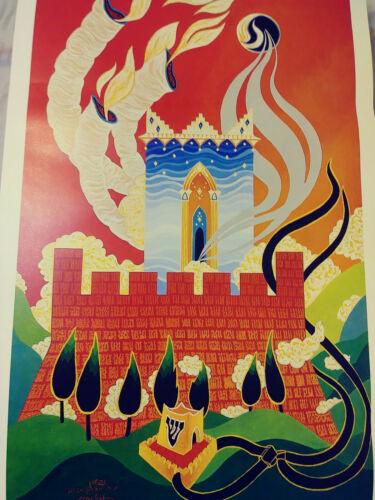 1980 Baruch Nachshon Mikdash Melech Sanctuary Of The King Vintage Israeli Art