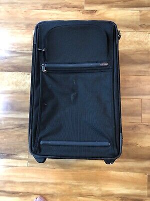 TUMI Black Frequent Traveler Framed Expandable 22