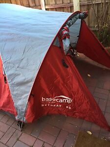 Kathmandu Basecamp Retreat 50 - 2 man tent and Spinifex camping light South Melbourne Port Phillip Preview