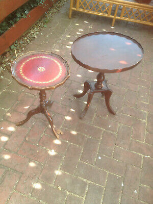 2 SMALL LAMP TABLES