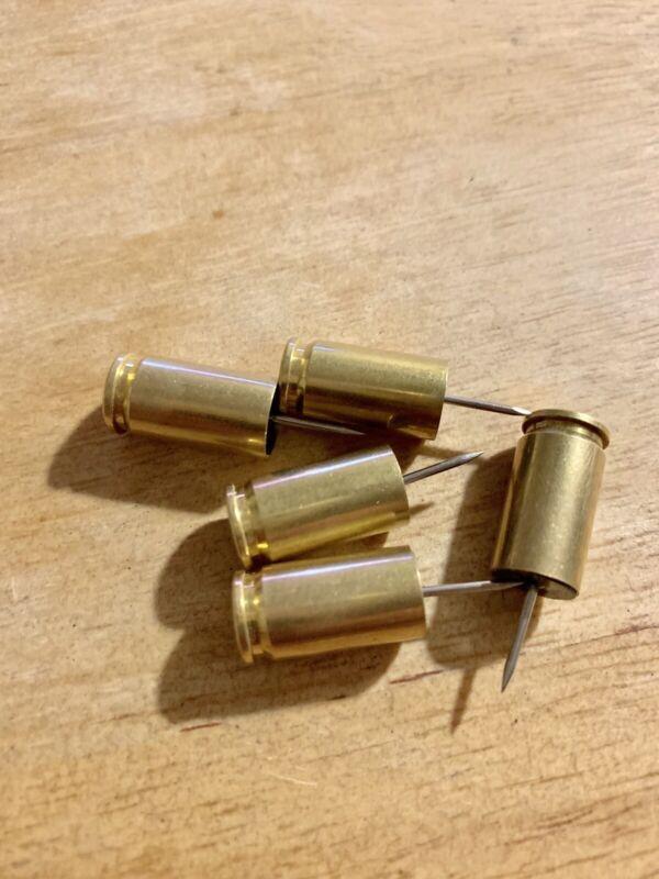 25 - 9mm Shell Case Push Pins