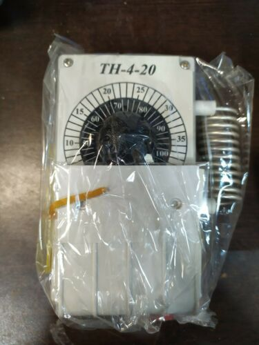 Line Voltage Mechanical Thermostat, Heating/Cooling ventilation 16 amp Resistiv