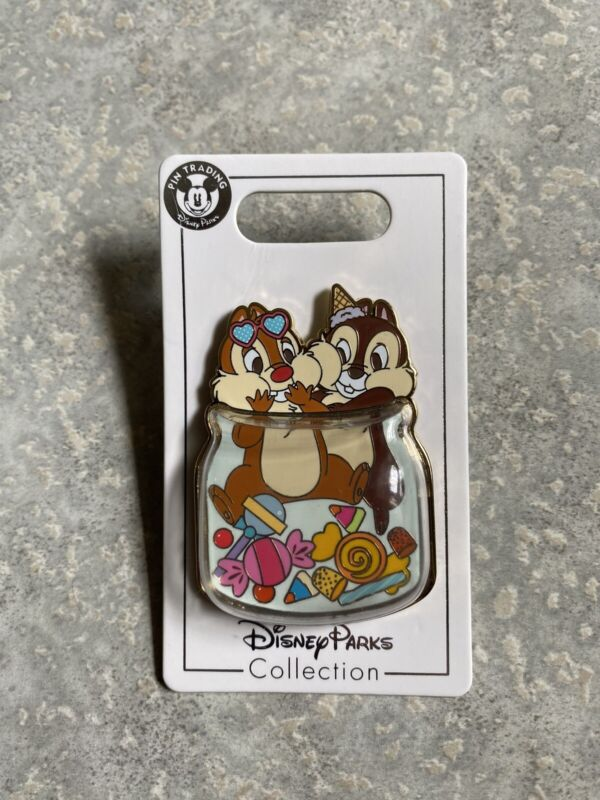 Disney SHDR Shanghai Disneyland Chip And Dale Candy Jar 3D Pin
