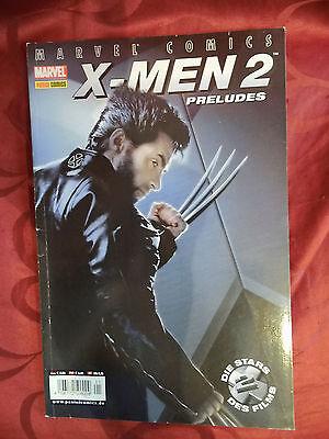 X-MEN 2 PRELUDES - Marvel Comic deutsch aus 2003 - Wolverine - Logan - Panini -