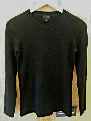 J Crew black cashmere jumper size S
