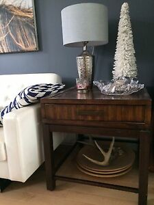 Matching side or end tables