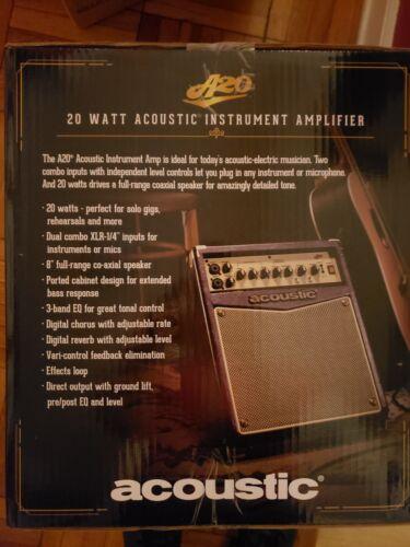 Acoustic 20 watt acoustic instrument amplifier ------------------free shipping!